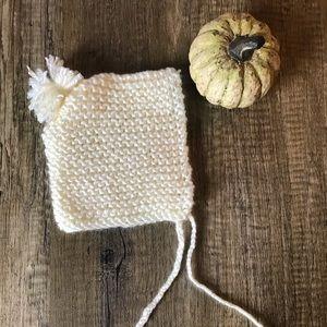 Handmade Newborn Bonnet